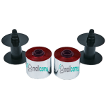 Frama Accessmail Ink, Ecomail Ink & Officemail Ink - Remanufactured RED Ink Spools