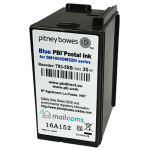 Pitney Bowes DM175i & DM200i Ink Cartridge - Original SMART BLUE Ink