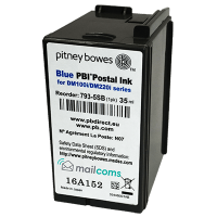 Pitney Bowes DM160i & DM220i Ink Cartridge - Original SMART BLUE Ink