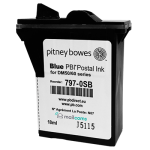 Pitney Bowes DM50 & DM55 Ink Cartridge - Original SMART BLUE Ink