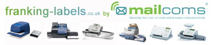 Franking Machine Lables by Mailcoms